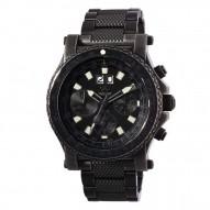 VALKYRIE Battleworn-plated stainless Dial Black Battleworn Bracelet