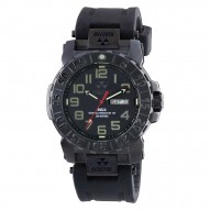 TRIDENT 2 Stainless Dial Black Rubber Strap
