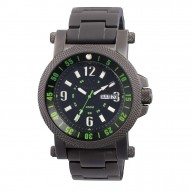 FALLOUT 2 Black-plated Stainless Dial Black & Green Black-plated Stainless Bracelet