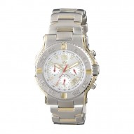 CRITICAL MASS CHRONO Gold-plated 2-tone Stainless Dial Silver Gold-plated 2-tone Stainless Bracelet