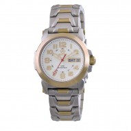 ATOM Gold-plated 2-tone Stainless Dial White Mother of Pearl Gold-plated 2-tone Stainless Bracelet