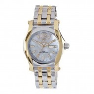 CURIE Gold-plated 2-tone Stainless Dial White Mother of Pearl Gold-plated 2-tone Stainless Bracelet