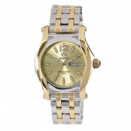 CURIE 2-tone gold-plated Stainless Dial Champagne 2-tone gold-plated Stainless Bracelet