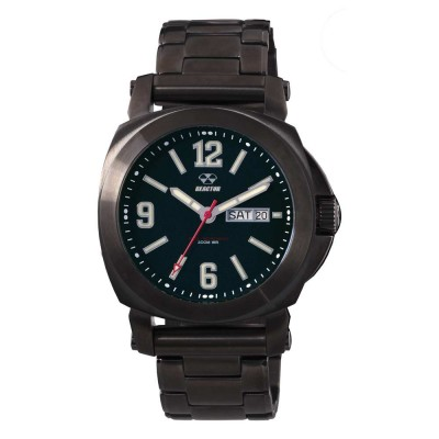 FERMI Gunmetal-platedStainless Dial Matte Black Gunmetal-plated Bracelet