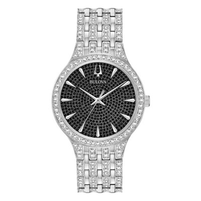 96A227 Mens Crystal Watch