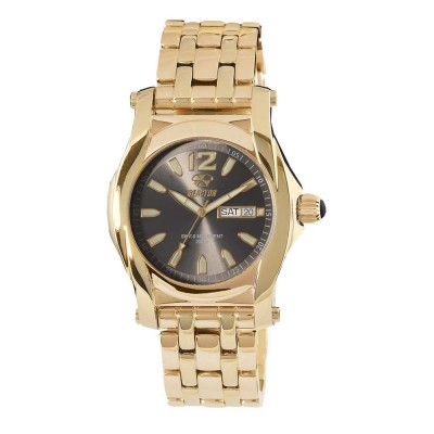 CURIE Gold-plated Stainless Dial Smoke Gold-plated Stainless Bracelet