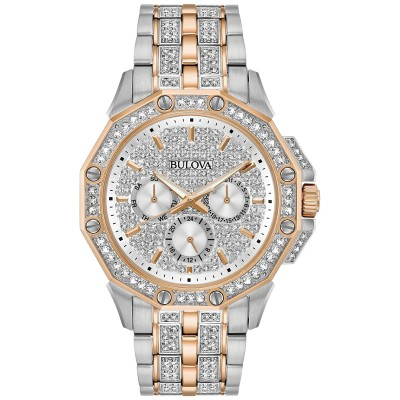 98C133 Mens Crystal Watch