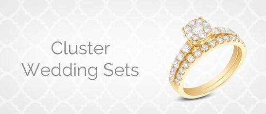 Cluster Wedding Sets