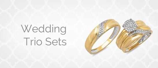 Wedding Trio Sets