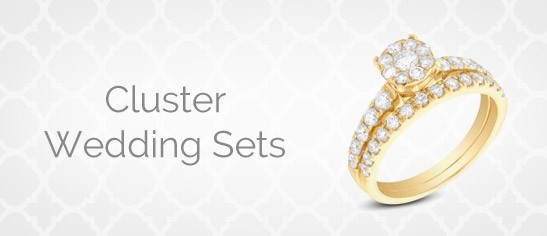 Cluster Wedding Sets