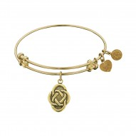 Angelica Celtic Oval Knot Bangle