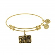 Brass with Yellow Finish Country Girl Charm for Angelica Bangle