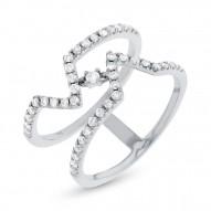 Maddison E 0.43ct 14k White Gold Diamond Lady