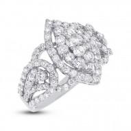 2.08ct 18k White Gold Diamond Lady