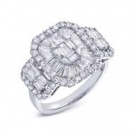 2.20ct 18k White Gold Diamond Lady