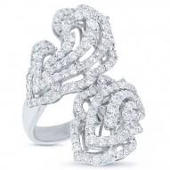 3.68ct 18k White Gold Diamond Lady