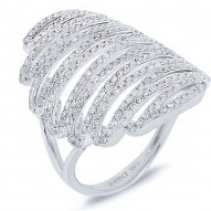 1.21ct 14k White Gold Diamond Lady