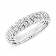 Maddison E 0.28ct 14k White Gold Diamond Lady