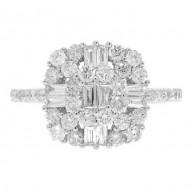 Madison E 1.12ct 18k White Gold Diamond Lady
