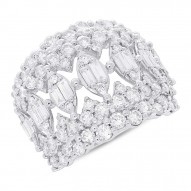 Madison E 2.59ct 14k White Gold Diamond Lady