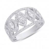 Madison E 0.71ct 14k White Gold Diamond Lady