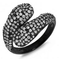 Madison E 1.23ct 14k Black Rhodium Gold Diamond Lady