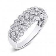 Madison E 1.37ct 18k White Gold Diamond Lady