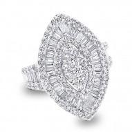 Madison E 3.25ct 18k White Gold Diamond Lady
