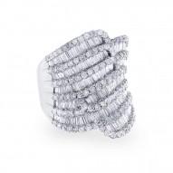 Madison E 3.63ct 18k White Gold Diamond Lady
