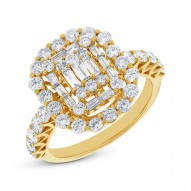 Madison E 1.77ct 18k Yellow Gold Diamond Lady