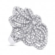 Madison E 5.52ct 18k White Gold Diamond Lady
