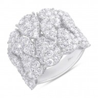 Madison E 3.63ct 14k White Gold Diamond Lady