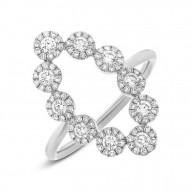 Madison E 0.72ct 14k White Gold Diamond Lady