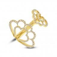 Madison E 0.31ct 14k Yellow Gold Diamond Lady