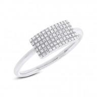 Madison E 0.21ct 14k White Gold Diamond Lady