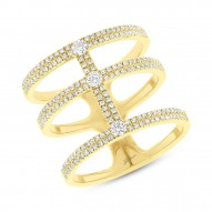 Madison E 0.59ct 14k Yellow Gold Diamond Lady