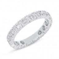 Madison E 1.22ct 14k White Gold Diamond Eternity Ring Size 7