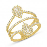 Madison E 0.60ct 14k Yellow Gold Diamond Lady
