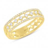 Madison E 0.29ct 14k Yellow Gold Diamond Lady