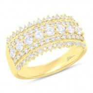 Madison E 1.00ct 14k Yellow Gold Diamond Lady