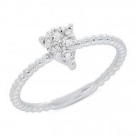 Madison E 0.24ct 14k White Gold Diamond Lady