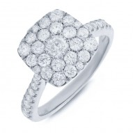 Madison E 1.35ct 14k White Gold Diamond Lady