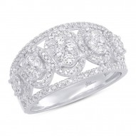 Madison E 0.72ct 14k White Gold Diamond Lady
