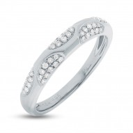Madison E 0.21ct 14k White Gold Diamond Lady
