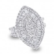 Madison E 3.25ct 18k White Gold Diamond Lady