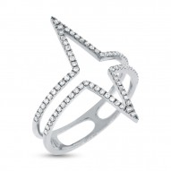 Madison E 0.26ct 14k White Gold Diamond Lady