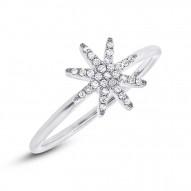 Madison E 0.10ct 14k White Gold Diamond Lady