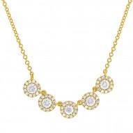 Madison E 0.53ct 14k Yellow Gold Diamond Lady