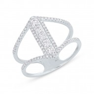 Madison E 0.53ct 14k White Gold Diamond Lady