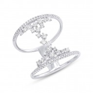 Madison E 0.51ct 14k White Gold Diamond Lady